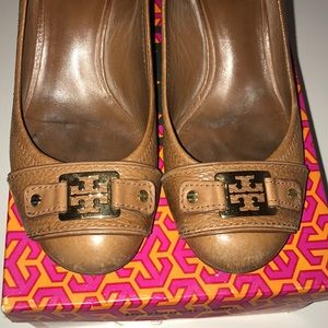0a24749373e9a Tory Burch Shoes - SALE!!! Tory Burch Natalya mid wedge Size 7.5